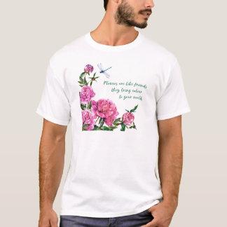 Camiseta As flores são como friends.JPG