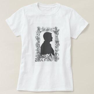 Camiseta As flores vêm primeiramente