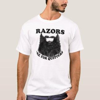 Camiseta As lâminas são para quitters