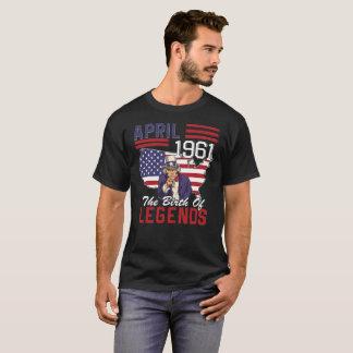 Camiseta As legendas eram em março de 1961 57th presente de