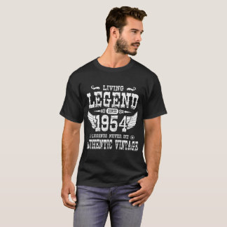CAMISETA AS LEGENDAS VIVAS DA LEGENDA DESDE 1954 NUNCA