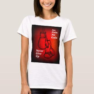 Camiseta As luvas de encaixotamento lutam o presente do fã