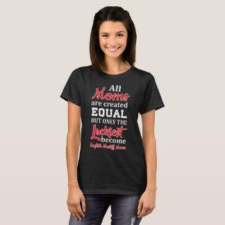 Camiseta As mães criaram o Mastiff inglês tornado o mais