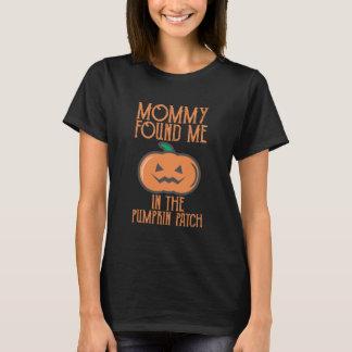Camiseta As mamães encontraram-me no remendo da abóbora!