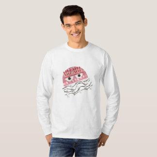 Camiseta As medusa penteiam a ligação em ponte de nenhuns