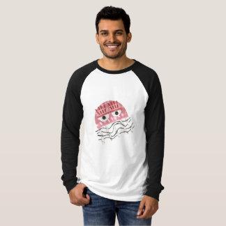 Camiseta As medusa penteiam a parte superior do Raglan de