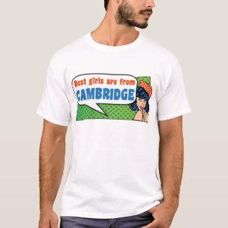 Camiseta As melhores meninas são de Cambridge