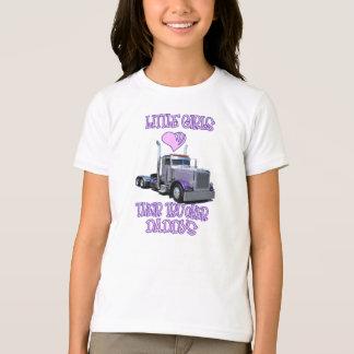 Camiseta As meninas amam seu roupa dos pais do camionista