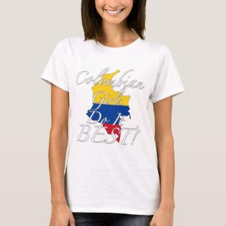Camiseta As meninas colombianas fazem-no melhor!