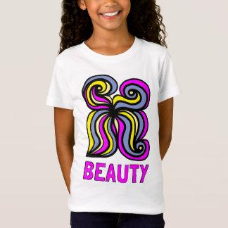 """Camiseta As meninas da """"beleza"""" multam o t-shirt do jérsei"""