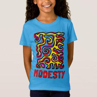 """Camiseta As meninas da """"modéstia"""" multam o t-shirt do"""