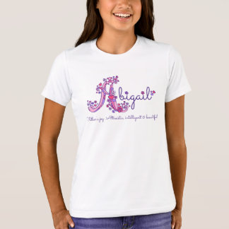 Camiseta As meninas de Abigail rotulam o significado