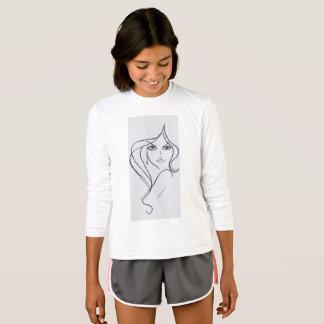 Camiseta As meninas denominam e incrédulo Sassy