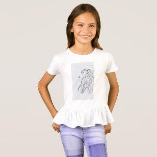 Camiseta As meninas denominam e o perfil do incrédulo