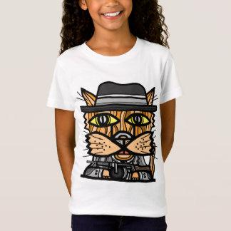 """Camiseta As meninas do """"gângster"""" multam o t-shirt do"""