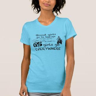 Camiseta As meninas do GS vão em toda parte