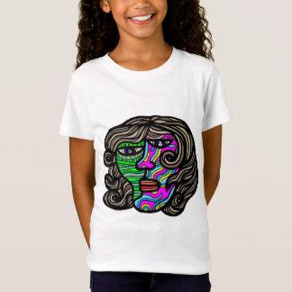 """Camiseta As meninas do """"retrocesso"""" multam o t-shirt do"""