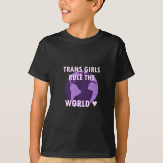 Camiseta As meninas do transporte ordenam o mundo (v1)
