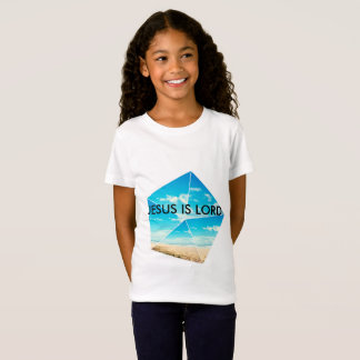 Camiseta As meninas Jesus são senhor Fino Jérsei T-shirt