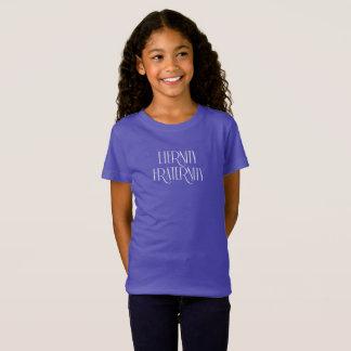 Camiseta As meninas multam o t-shirt do jérsei
