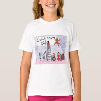 Camiseta As meninas podem fazer qualquer coisa!