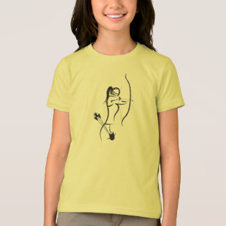 Camiseta As meninas Recurve o arqueiro