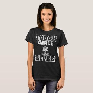 Camiseta As meninas resistentes salvar o paramédico das