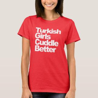 Camiseta As meninas turcas afagam melhor