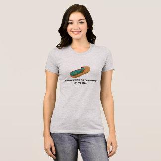 Camiseta As mitocôndria são a central eléctrica da pilha
