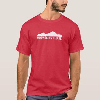 Camiseta As montanhas satisfazem