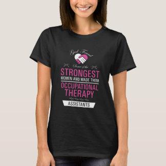 Camiseta As mulheres as mais fortes são assistente da