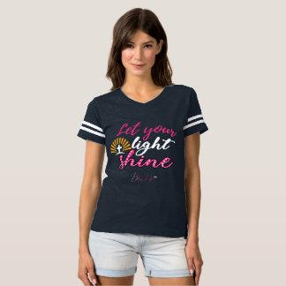 Camiseta As mulheres deixaram seu t-shirt leve do futebol
