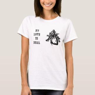 Camiseta As mulheres do dia dos namorados meu amor são