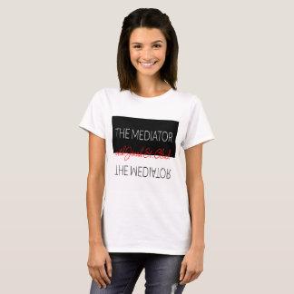 Camiseta As mulheres do t-shirt do mediador