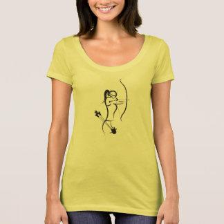 Camiseta As mulheres Recurve o arqueiro - Centerpunch