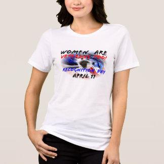 Camiseta As mulheres são veteranos demasiado!