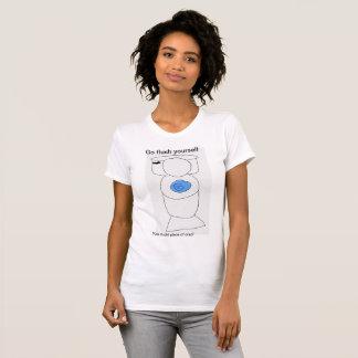 Camiseta As mulheres vão em nível você mesmo T