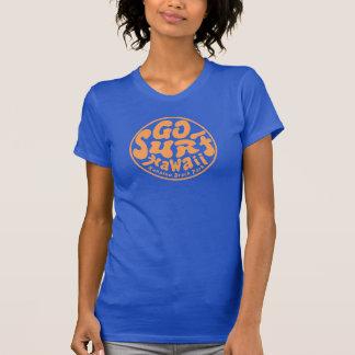 Camiseta As mulheres VÃO t-shirt de HAVAÍ do SURF