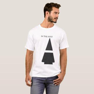 Camiseta Ás no furo - T claro dos homens
