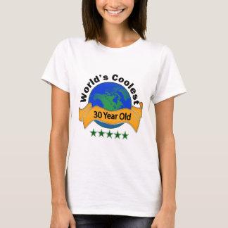 Camiseta As pessoas de 30 anos as mais frescas do mundo