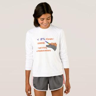 Camiseta As pessoas do gengibre são unicórnios totalmente