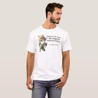 Camiseta As pessoas gostam de plantas masculinas
