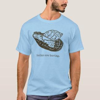 Camiseta As pústulas são homens aborrecidos azuis