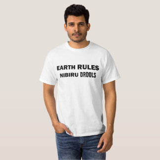 Camiseta As regras da terra, Nibiru Drools