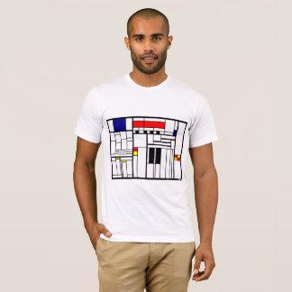 Camiseta As ruas da vila esquadraram o T