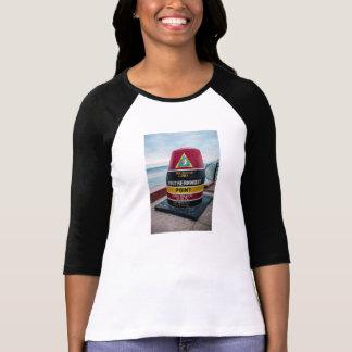 Camiseta As senhoras as mais southernmost do ponto 3/4 de