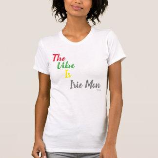 Camiseta As senhoras de Irie Short o t-shirt da luva