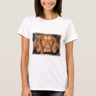 Camiseta As senhoras do cão do racum couberam o t-shirt