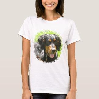 Camiseta As senhoras do cão do setter de Gordon couberam o