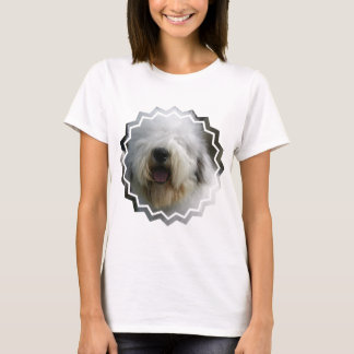 Camiseta As senhoras do Sheepdog couberam o t-shirt